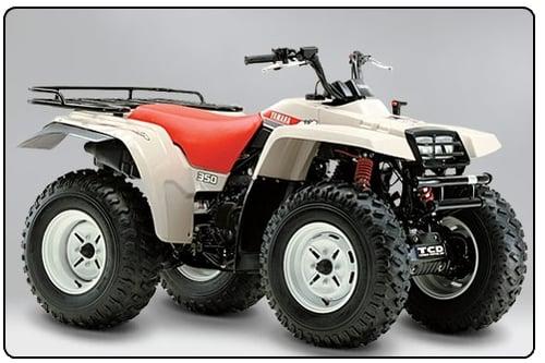 1987-1996 Yamaha Big Bear 350 4x4 And 1997 Se Service Manual And Atv Owners Manual