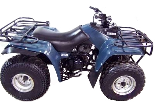 pay for 1989-1991 yamaha moto-4 250 service manual and atv owners manual