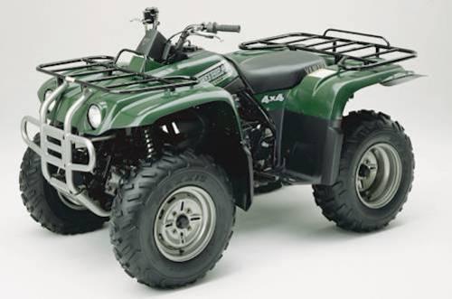 2000-2001 Yamaha BIG BEAR 400 4x4 Service Manual and ATV Owners Manual ...