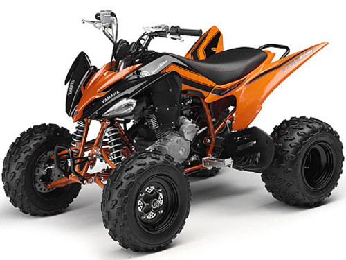 2008 Yamaha Raptor 250 Service Manual and ATV Owners Manual - Works...