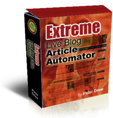 Pay for Extreme Live Blog Article Automator + Master Resell Rights