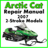Thumbnail 2007 Arctic Cat  2-Stroke Service Repair Manual Download