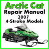 Thumbnail 2007 Arctic Cat  4-Stroke Service Repair Manual Download