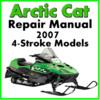 Thumbnail 2007 Arctic Cat  4-Stroke Service Repair Manual Download