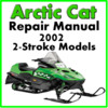 Thumbnail 2002 Arctic Cat  2-Stroke Service Repair Manual Download