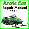 Thumbnail 2001 Arctic Cat Service Repair Manual Download