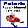 Thumbnail 1996-1998 Polaris Snowmobile Service Repair Manual