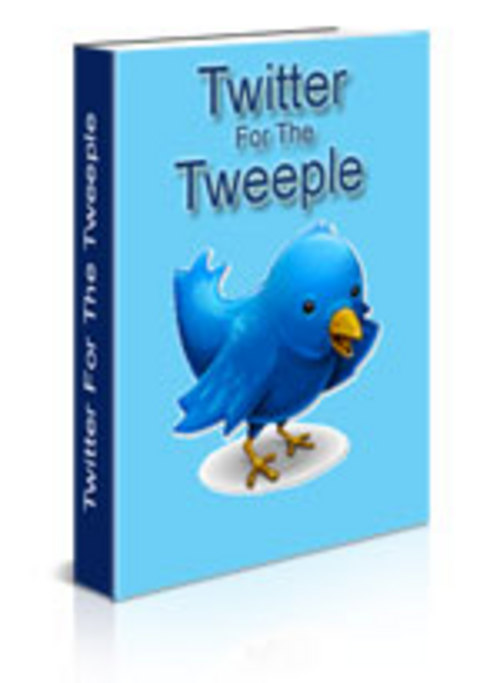Pay for Twitter For The Tweeple with PLR