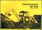 Thumbnail Massey Ferguson MF 50 B Instruktionsbok