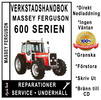 Thumbnail Verkstadshandbok till Massey Ferguson MF 675, 690, 698