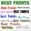 Thumbnail Best Fonts 8500 CD-ROM