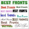 Thumbnail Best Fonts 8500 CD-ROM