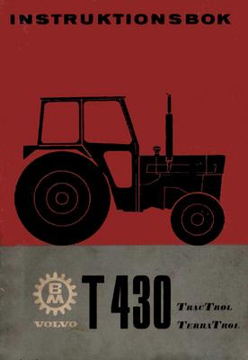 instruktionsbok volvo bm t430 download manuals technical rh tradebit com volvo bm 430 service manual Volvo BM Single Cylinder Tractor