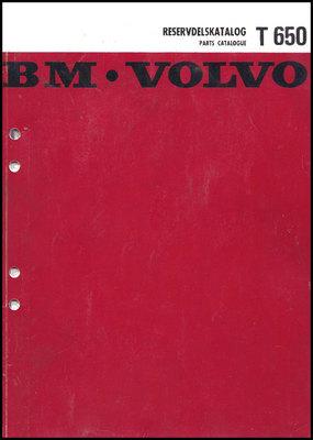 Pay for Reservdelskatalog Volvo BM T 650