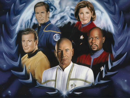 Pay for Star Trek complete ebook collection - 563 books (TXT)