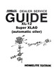 Thumbnail Homelite XL-12 Chain Saw Owners, Parts, & Service Manuals