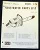 Thumbnail McCulloch 1-76 Chain Saw Parts List ( 2 manuals) 30 pages
