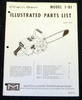 Thumbnail McCulloch 1-85 Chain Saw Parts List - One Manual - 19 pages