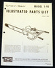 Thumbnail McCulloch 1-92 Chain Saw Parts List - One Manual - 15 pages