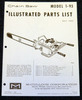 Thumbnail McCulloch 1-93 Chain Saw Parts List - One Manual - 15 pages