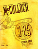 Thumbnail McCulloch 3-25 Chain Saw Owners Manual - 56 pages