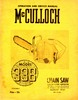 Thumbnail McCulloch 33B Chain Saw Owners & Operators Manual