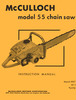 Thumbnail McCulloch 55 Chain Saw Owners & Operators Manual