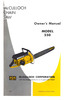 Thumbnail McCulloch 550 Chain Saw Owners & Operators Manual