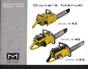Thumbnail McCulloch 1-43 Chain Saw Owners & Operators Manual
