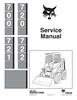 Thumbnail Bobcat 700, 720, 721, 722 Skid Steer Service Manual