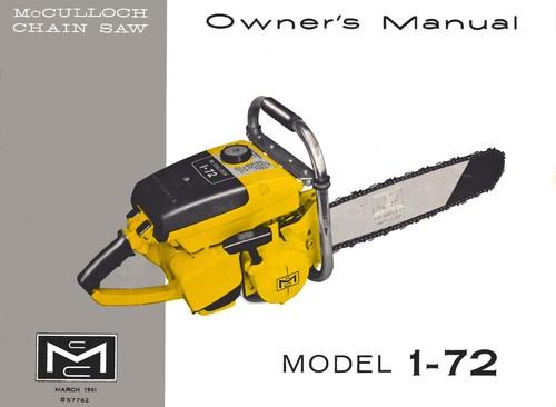 nosioha - Mcculloch chainsaw repair manual pdf