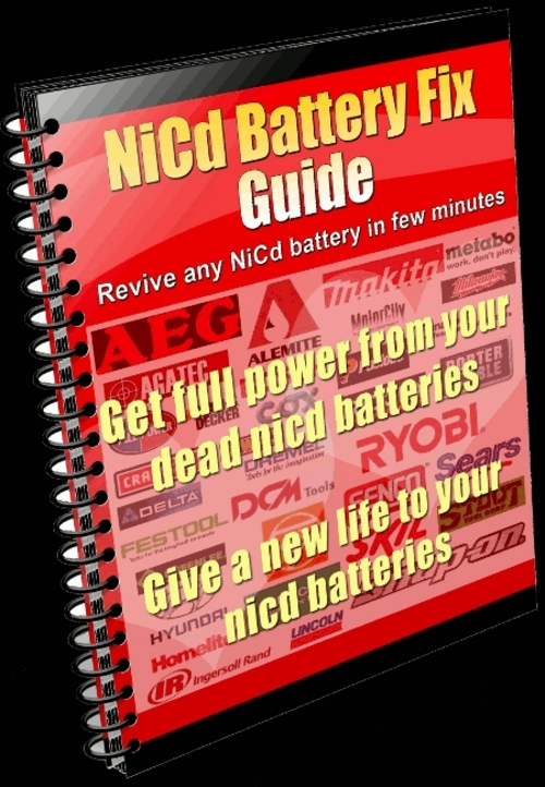 NICD BATTERY FIX GUIDE