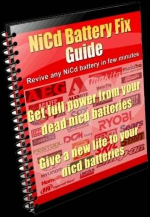 Pay for Cell phone NiCd Battery Repair Instructions Fix NiCad Battery