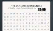 Thumbnail The Ultimate Icon Bundle 2,900+ High-Quality Icons