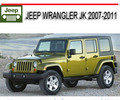 Thumbnail JEEP WRANGLER JK 2007-2011 WORKSHOP REPAIR MANUAL