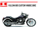 Thumbnail KAWASAKI VULCAN 900 CUSTOM VN900C BIKE REPAIR SERVICE MANUAL