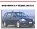 Thumbnail KIA CARNIVAL KIA SEDONA 2006-2012 REPAIR SERVICE MANUAL