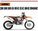 Thumbnail KTM 250 300 380 SX MXC EXC BIKE ENGINE WORKSHOP SERVICE MANU