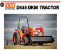 Thumbnail KIOTI DAEDONG DK45 DK50 TRACTOR WORKSHOP REPAIR MANUAL