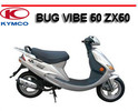 Thumbnail KYMCO BUG VIBE 50 ZX50 SCOOTER WORKSHOP REPAIR MANUAL