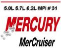 Thumbnail MERCURY MERCRUISER 5.0L 5.7L 6.2L MPI # 31 REPAIR MANUAL