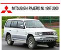 Thumbnail MITSUBISHI PAJERO NL 1997-2000 REPAIR SERVICE MANUAL