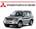 Thumbnail MITSUBISHI PAJERO iO QA 1998-2006 REPAIR SERVICE MANUAL