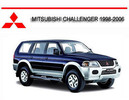 Thumbnail MITSUBISHI CHALLENGER 1998-2006 WORKSHOP REPAIR MANUAL