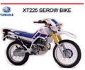 Thumbnail YAMAHA XT225 SEROW BIKE REPAIR SERVICE MANUAL