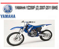 Thumbnail YAMAHA YZ250F (Z) 2007-2011 BIKE REPAIR SERVICE MANUAL