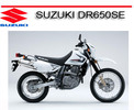 Thumbnail SUZUKI DR650SE 1996 ONWARD BIKE REPAIR SERVICE MANUAL