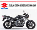 Thumbnail SUZUKI GS500 SERIES BIKE 1990-2009 REPAIR SERVICE MANUAL