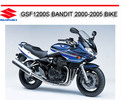 Thumbnail SUZUKI GSF1200S BANDIT 2000-2005 BIKE REPAIR SERVICE MANUAL