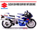 Thumbnail SUZUKI GSX-R600 GSXR 600 1997-2000 BIKE REPAIR MANUAL